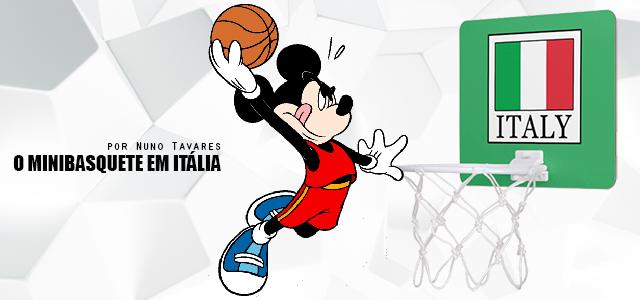 Ainda o Minibasquete em ItáliaNão chega só ter uma base muito larga no escalão de minibasquete, mas também perceber que existem pequenas coisas que ajudam a solidificar e manter os jovens atletas vinculados à modalidade.