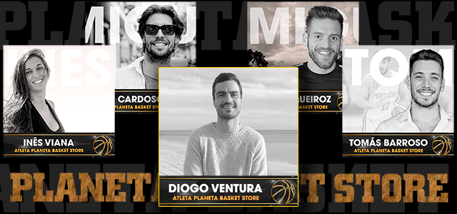 Bem-vindo, Diogo!O mercado de inverno já fechou, mas ainda fomos a tempo de reforçar a equipa PB Store com mais um atleta de topo do nosso basquetebol - o base do Sporting C.P. e da Seleção Nacional, Diogo Ventura.